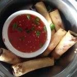2nd Floor Room 604 with Pool Side View - Veg Spring Rolls 350