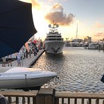 From the deck during the boat show November 2017