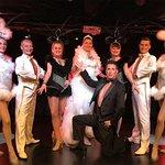 L'équipe du Chaudron Magik' pour les 20 ans du Cabaret.