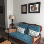 Room 3 : the mini-lounge adjoining the bedroom : great place to work, read, relax