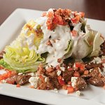 Steak tip B&B wedge salad