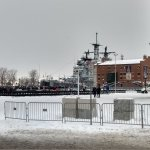 12/16/17 Commissioning Ceremony of the USS Little Rock in Buffalo, NY