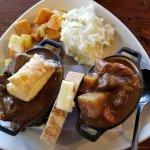 Irish stew and beef stew
