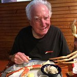 The all-you-can-eat crab legs are delicious and a treat although expensive