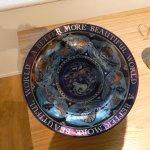 Wightwick Gallery. William De Morgan ceramics and art by Evelyn de Morgan.