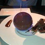 Flaming Chocolate Ball
