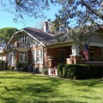 The Magnolia House was built in 1923.  Enjoy relaxing on the grounds.