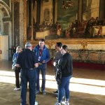 Guiding in Versailles