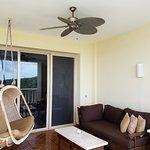 Balcony of an ocean view room