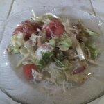 half of the Original 1905 Salad