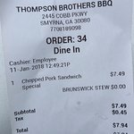 Foto de Thompson Brothers Barbeque
