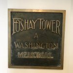 The Foshay Tower plaque.