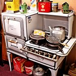 Baylor County History Museum, Seymour Texas - Kitchen