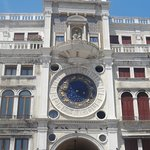 Torre dell'Orologio на площади Сан-Марко