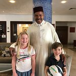 Brilliant, friendly doorman! Provided a lovely welcome to Marrakech