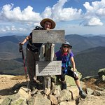 At the summit of Mt. Lafayette