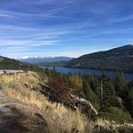 Donner Lake, looking east toward mountains near Reno.