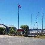 Goolwa Boat Haven Marina entrance