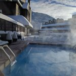 Whistler's newest pool, hot tub and deck