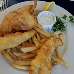 Fish and Chips the way to go here