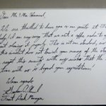 Graham's Letter After Coffee Pot Incident