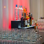 Bar reception area outside the salon rooms
