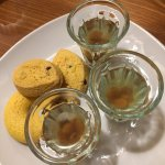 Grappa and cookies on the house