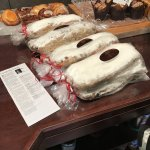 Stollen Christmas Bread and Pastries