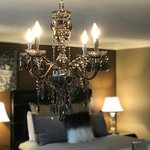 Chandelier in the Serenity Room