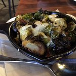 Brussel sprouts with sherry vinaigrette