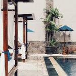 gazebo at pool area