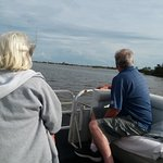 Mom and dad viewing Florida's marine and wildlife!