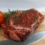 Our 12 ounce New York Steak is Flame Broiled - Tender, Flavorful, Juicy.