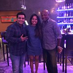 And my Fan Girl Moment that was captured with Mr. Brian Lara at Buzzo Italiana, Trinidad.
