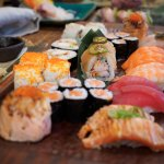 Our large selection of sushi