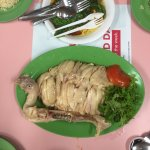 Without a doubt the best chicken rice in Singapore! The chicken just melt in your mouth and the