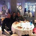 Con mi hermano y mi hija