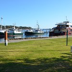 Anzac Park Strahan- Local fishing Boats