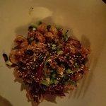 Calamari with chili lime sauce