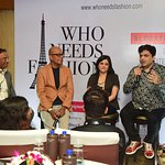 Panel discussion with Fashion Brands
