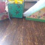 Detalles en las mesas