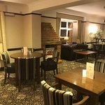 New bar area after refurbishment