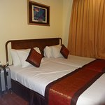 2nd room at the 2 bedroom suite. Master room has 1 king size bed