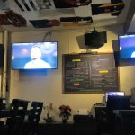 Good TV screens for sports at the Downunder Pub