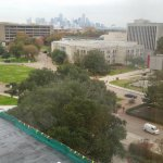 View of the University of Houston Campus 7th floor