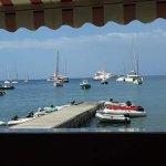 la vue sur la baie de Deshaies