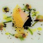 Smoked Swordfish, Octopus and Sea Urchin