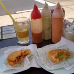 Areperas  and sauces