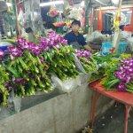 The large night flower market.