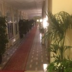 Corridors to dining rooms